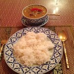 Thai curry - fantastic!