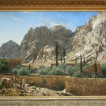 St-Catherine Monastery in Sinai - Adolf von Meckel - 19th -Museum voor Schone Kunsten - Ghent