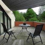 Room terrace - Villa Commandeur - Mechelen - May 8 2012