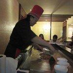 Chef Joseph at work