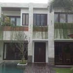 External villa