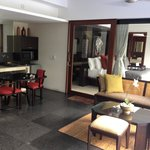 Living Area Villa #3