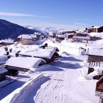 Picturesque Les Eucherts. You can walk to the ski lift from the Chalet.