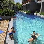 En av tre stora pooler för vuxna