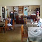 inside the main coffee shop area