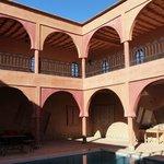Magical inside court of the medina
