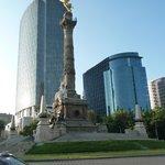 El Ángel  officially known as Monumento a la Independencia,