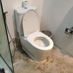 this is the bathroom in need of tiles for this room we paid £80 per night from past experience t