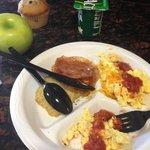 Carolyn's breakfast was good!