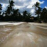 Des résidences privées le long de la plage