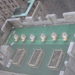 Festive Bee Hives On The Waldorf Roof As Seen From Our Suite