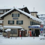 The train station in Grindelwald