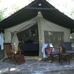 la mia tenda/camera