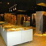 Inside Pawiak Museum
