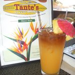 Great food and drinks at Tante's