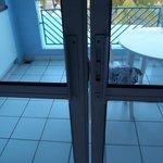 porte coulissantes chambre/balcon