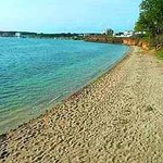 Sandy beach 50m away from Apartments MINT