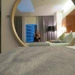 The room throgh a mirror