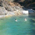 Lagoon for swimming