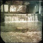 Waterfall at Landmark Inn
