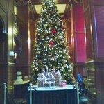 Lobby -- Skirvin Hotel  Christmas 2012