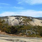 Stone Mountain from Cedar Rock