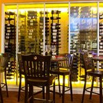 A large wine selection complements your tastes