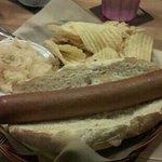 The Monster German Wiener!  very good :D