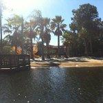 park and beach