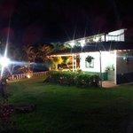 Hostal Garden and main house