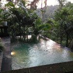 The pool... totally refreshing