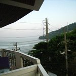 ホテルの部屋からの眺め(3階)