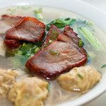 Char Sieu Wonton Noodle Soup
