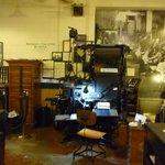 The amazing linotype machine here