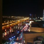 View from the room to Dubai Mall Entrance