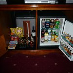 minibar is extremely overpriced