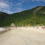 The small beach