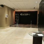 front desk / entrance to the casino