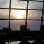 sunset from the Observation Desk at 300
