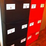 Shoe rack/storage boxes