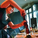 She's the bet waitress - like her French accent, her hospitality, resourcefulness & cheerfulness