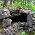 One of the Rock Ovens used by the builders of the KVR