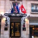 entrée hôtel décembre 2012