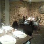 Une des jolies salles du restaurant