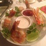 Shrimp Tempura style