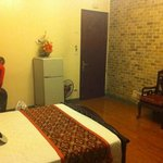 the room at the little diamond.double room