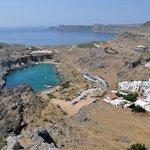 St Paul Bay dall'Acropoli