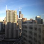 View from King Suite on 31st floor.