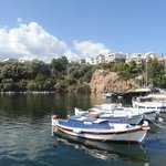 Agios Nikolaos - a nice place but quite hilly for walking about.