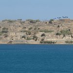 "If you've read ""Who pays the ferryman"", this is the island of Spinalonga, the lepor colony."